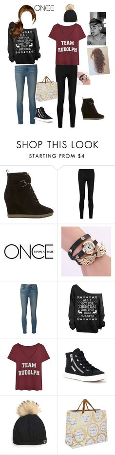 """""""Cole, @nerdliciousnerds and I are going holiday shopping"""" by breezyd123 ❤ liked on Polyvore featuring Mint Velvet, Donna Karan, Once Upon a Time, Frame Denim, Superga and Deva Designs"""