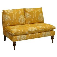 Queen Anne Lace Settee.