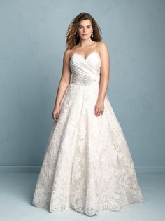 Alfred Angelo Plus Size Bridal W351