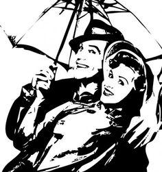 stencilry | singin' in the rain | singinintherain10243ea