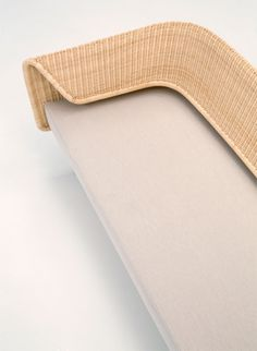Milan Design Week: Rattan backrest curves around Hiroomi Tahara's Wrap sofa…