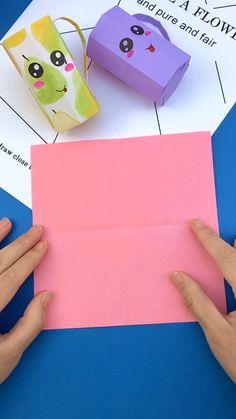 Diy Crafts To Do, Diy Crafts Hacks, Cute Crafts, Diys, Paper Crafts Origami, Oragami, Origami Art, Craft Activities For Kids, Preschool Crafts