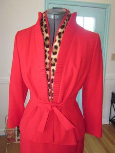 Lilli Ann Vintage Glamour, Retro Vintage, Women's Suits, American Fashion, Fashion Project, Future Fashion, Fashion History, Suits For Women, Fasion