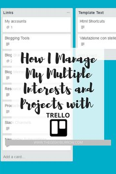 8 Creative Ways To Manage Your Tasks Projects Effectively Using Trello Boards