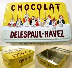 chocolat delespaul havez tin box - Google Search
