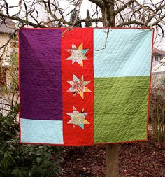 Quilt back by Sunset Sewing