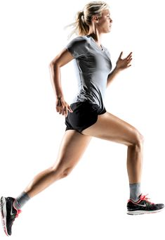 10 Athlete PNG Images (Free Cutout People) for Architecture, Landscape, Interior Renderings- Female Runner