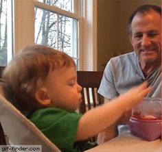 Baby tries to dye an Easter Egg | Gif Finder – Find and Share funny animated gifs