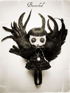 """""""I think that one is good. It's got black all over it. I think it's a doll."""""""