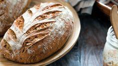 Ražný kváskový chlebík
