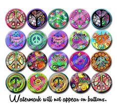 Hey, I found this really awesome Etsy listing at https://www.etsy.com/au/listing/292518847/peace-and-love-60s-hippie-party-favors