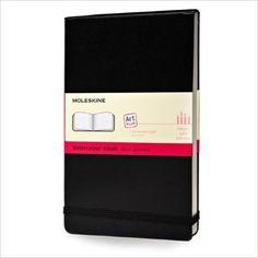 Amazon.com: Moleskine Art Plus Watercolor Album, Large, Black, Hard Cover (5 x 8.25) (Classic Notebooks) (Spanish Edition) (9788883705625): Moleskine: Books