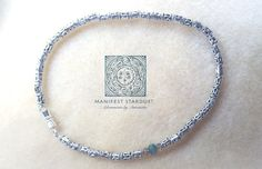 Silver Sands - love this beach beauty anklet. Jewelry design has got me like.....