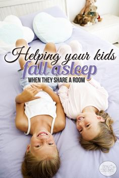 Do you struggle to get your kids to fall asleep in the same room? When space is tight, sometimes sharing a room is a must, but it doesn't have to be the end of quiet nights in your home. Yes, you can get your kids to fall asleep minus WW3 even when they share a room. You'll love these tips from moms like you who have been there!