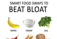 BEST FOODS TO EAT WHEN YOU ARE BLOATED