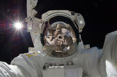 Astronaut Aki Hoshide's self-portrait in space is quite possibly the year's most awe-inspiring picture.