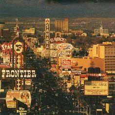 Vintage photo Las Vegas Strip casinos #StardustCasino