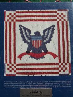 Vintage Patriotic quilt pattern