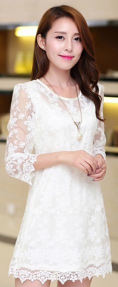 Sweet Korean lace dress YRB0322 £16.30