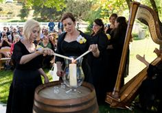 Unity Candle Ceremony: Officiant Eric