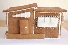 modern gingerbread house =)