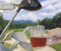 Electronic Drink Caddie - Golf Club Drink Dispenser