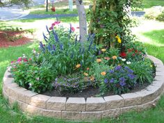 We Have An Area Like This..that Is Pretty! Raised Flower BedsRaised ...