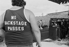 no backstage passes tee