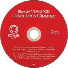 POWER GEAR 33628 Laser Lens Cleaner for CD, DVD & Blu-ray(TM)