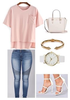 """""""Hot PINK POP"""" by razhanewiggins on Polyvore featuring NLY Accessories and Vita Fede"""