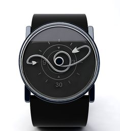 Twisted Time Watch Concept