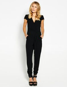 Xover Long Playsuit from Dotti