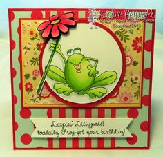 Fro-got your Birthday by stampwithkristine - Cards and Paper Crafts at Splitcoaststampers