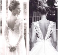 Beautiful lace backs