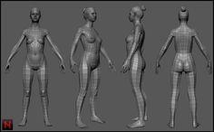 3D Body Modelling Uni Module (contains nudity) - Feedback Welcome - Polycount Forum