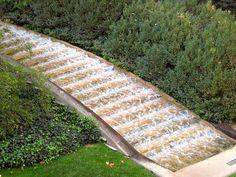 Modern take on an Italian classic water staircase at Longwood Gardens - Italian Water Garden Waterfall by Shutter*Buggie, via Flickr