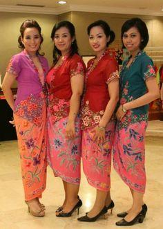 Indonesian batik & kebaya