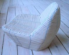 Pulp Sheet Furniture - Hettler.Tullmann's Paper Planet Collection is Deceptive and Eco-Friendly (GALLERY)
