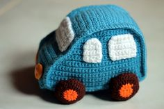Ravelry: Crochet Toy Car pattern by Julienne M.