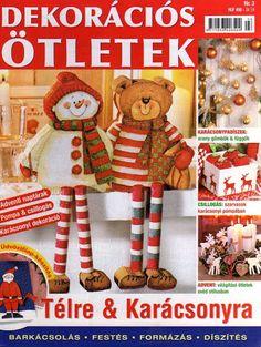 Dekorációs ötletek télre és karácsonyra - Muscaria Amanita - Picasa Webalbumok Book Crafts, Crafts To Do, Christmas Books, Christmas Crafts, Painted Books, Reno, Tole Painting, Advent Calendar, Free Printables