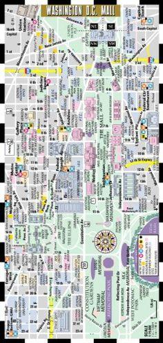 Streetwise Washington DC Metro Map - Laminated Washington DC Metrorail Map - Folding pocket & wallet size metro map for tr... $1.95