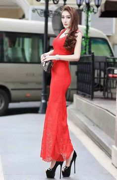 Long dress lengan panjang murahaleen