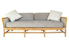 Ficks Reed Bamboo Sofa