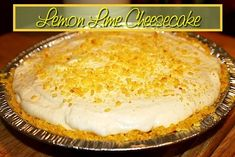 Lemon Lime Cheesecake Pie http://www.momspantrykitchen.com/lemon-lime-cheesecake-pie.html