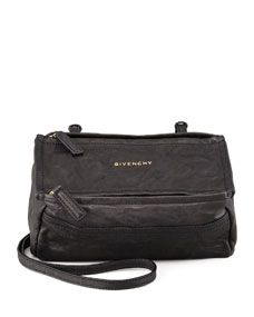 Givenchy Pandora Mini Crossbody Bag, Black