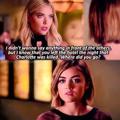 """[ 6x12: """"Charlotte's Web"""" ] #pll #prettylittleliars #bigbad #CeceisA…"""