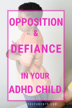 Oppositional Defiant Disorder (ODD) affects to of ADHD kids. Learn about ODD treatment and early intervention. Find out what you can do now to have better outcomes for your family later. Parenting Teens, Parenting Advice, Odd Disorder, Adhd Diagnosis, Adhd Odd, Motivation For Kids, Adhd Help, Difficult Children