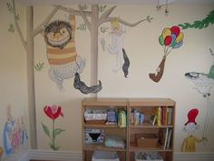 Photo Album posted by Heidi Ingersoll Allen on Find a Muralist. Room Mom, Boy Room, Nursery Stories, Nursery Art, Nursery Ideas, Room Ideas, All Wall, Playroom, New Baby Products