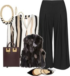 Plus size fall work chic look