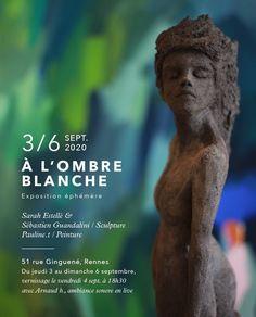 Expo sculptures & peintures avec une belle ambiance sonore Garden Sculpture, Outdoor Decor, Radiation Exposure, Atelier